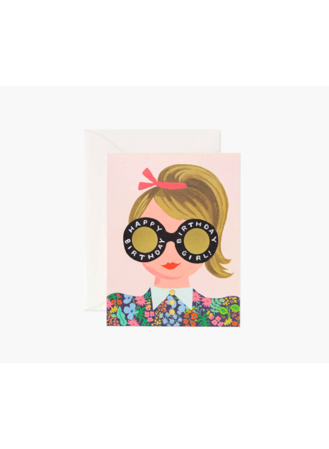 Rifle Paper Co Card - Birthday Girl Blonde