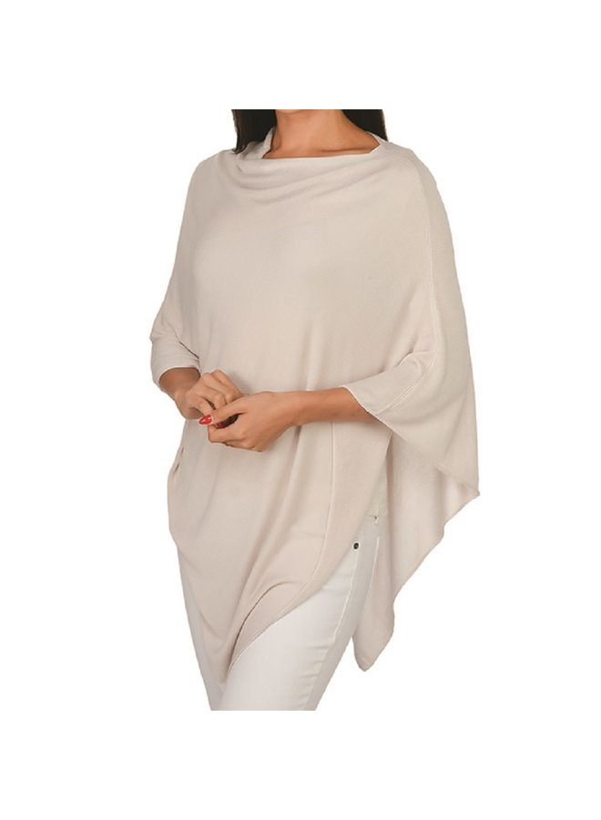 Elsa Bamboo Poncho - Many Colors Available