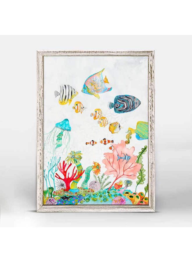Underwater Garden 5x7 Mini Wall Art