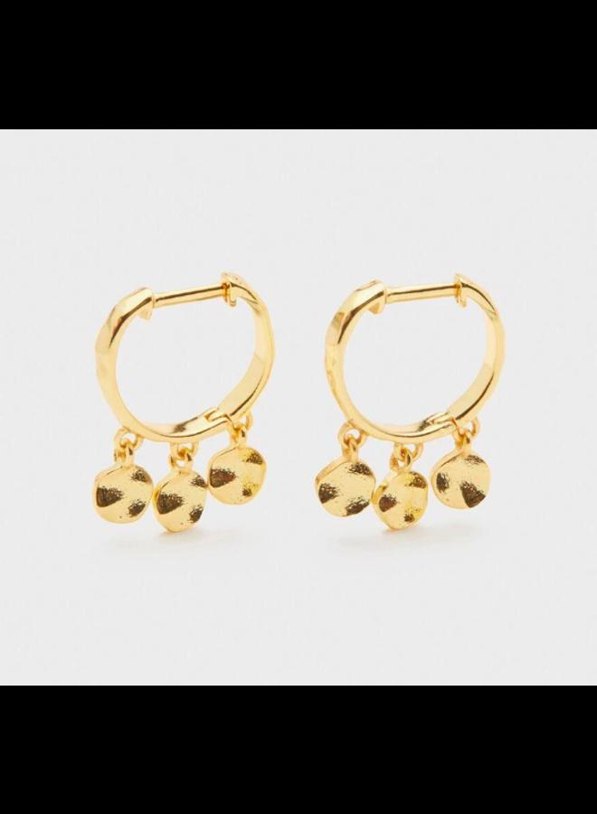 Chloe Mini Huggies Earrings by Gorjana
