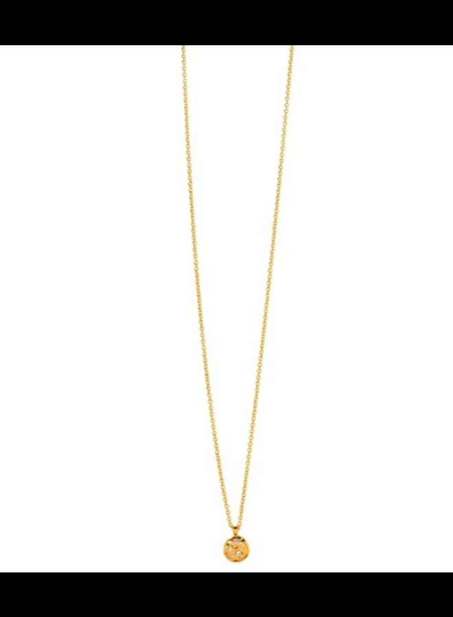 Collette Circle Adjustable Necklace