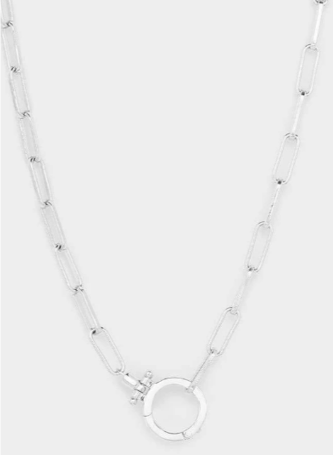 Parker Silver Necklace - By Gorjana