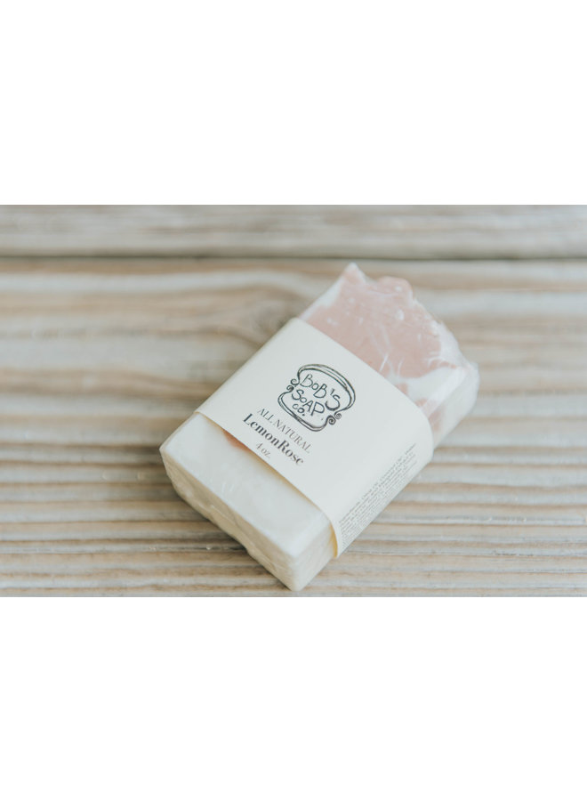 Lemon Rose Soap - Bob's Soap Co.