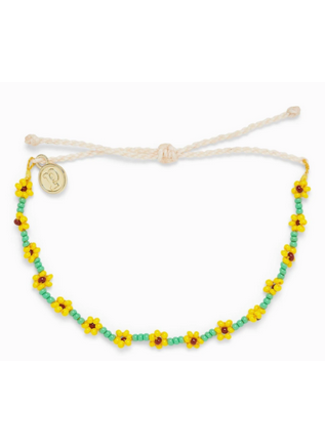 Pura Vida -  Sunflower Seed Bead Bracelet
