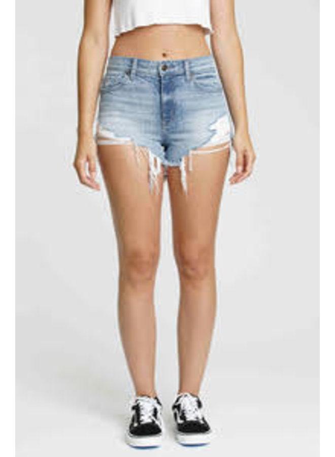 Lulu High Rise Cut Off Shorts by Eunina - Beach Bum