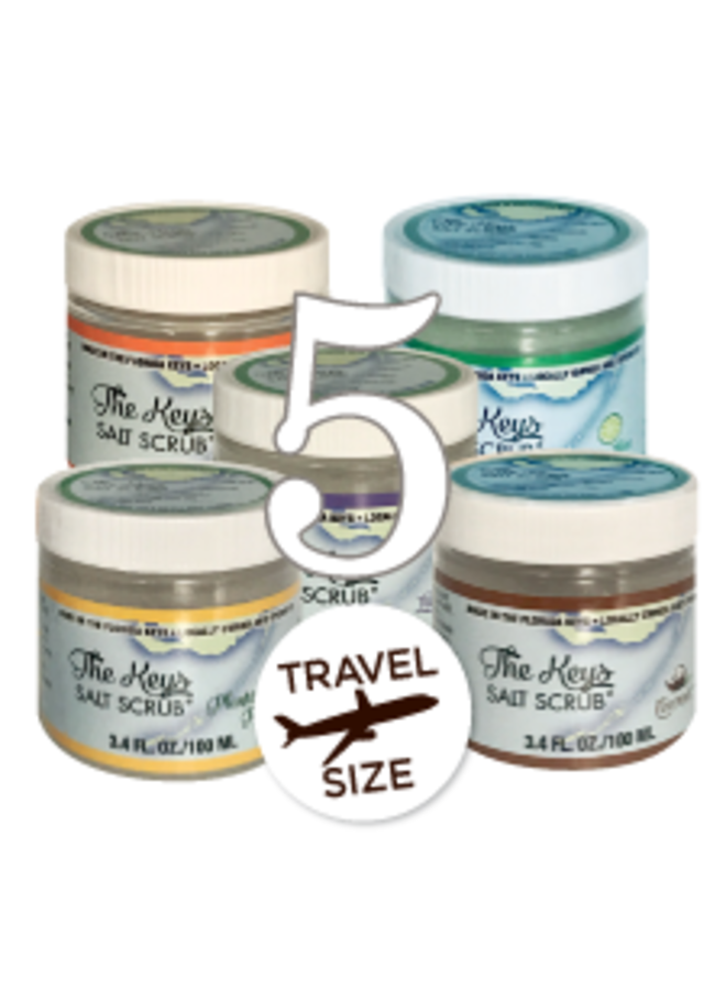 Keys Salt Scrub - Travel Size - 3.4 oz