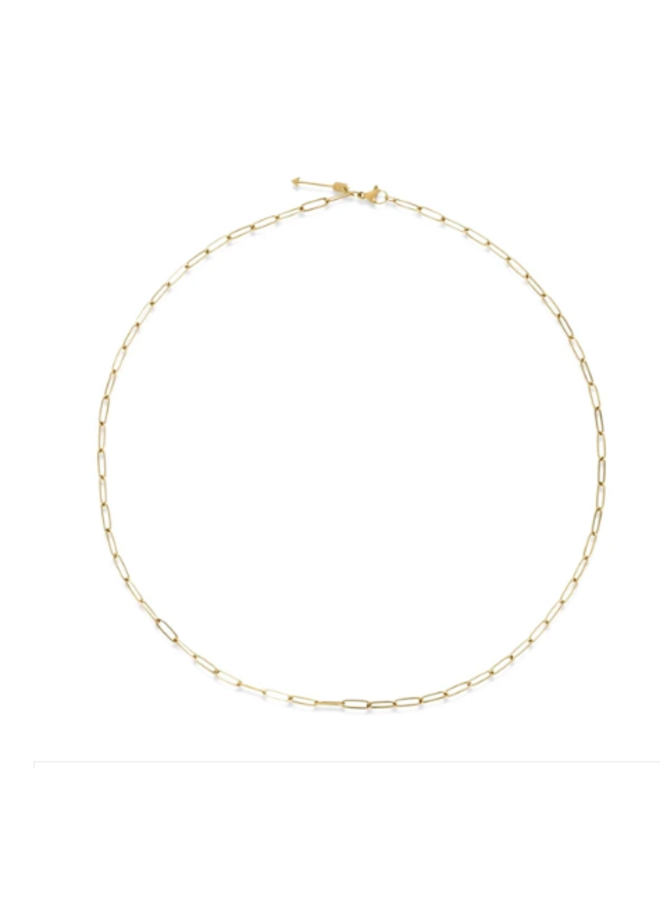 Slim Chain Necklace - Mona by Ellie Vail