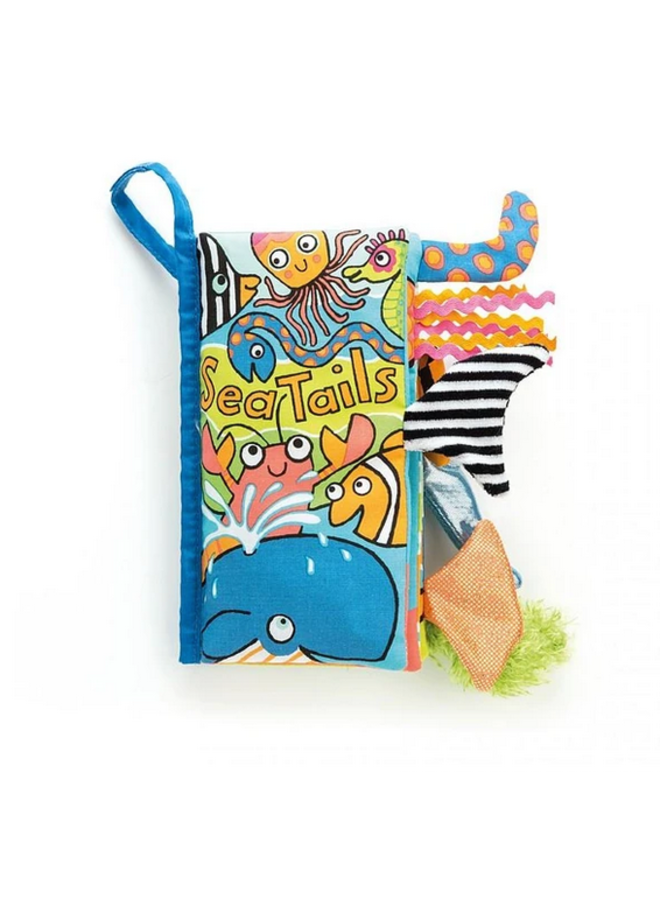 Jellycat - Sea Tails Activity Book