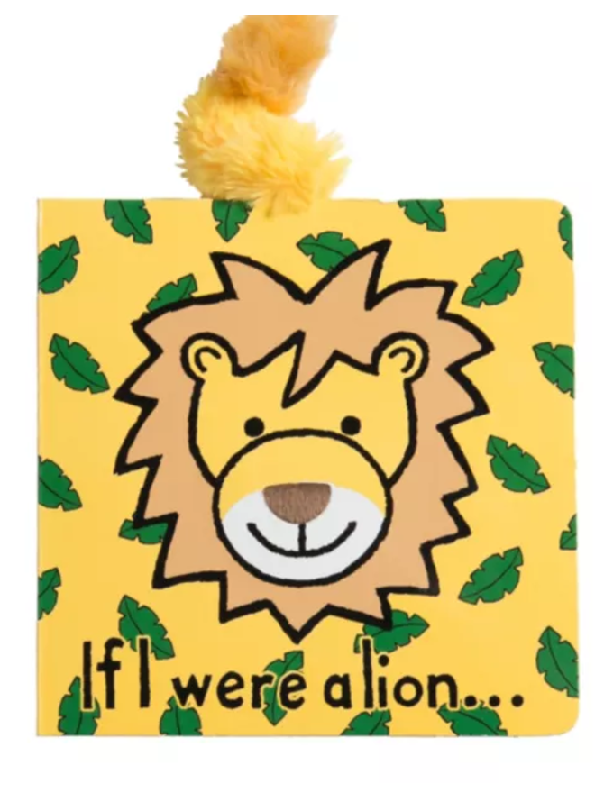 Jellycat - If I Were A Lion Book