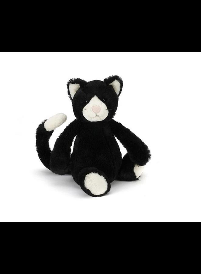 Jellycat - Bashful Black & White Cat Small
