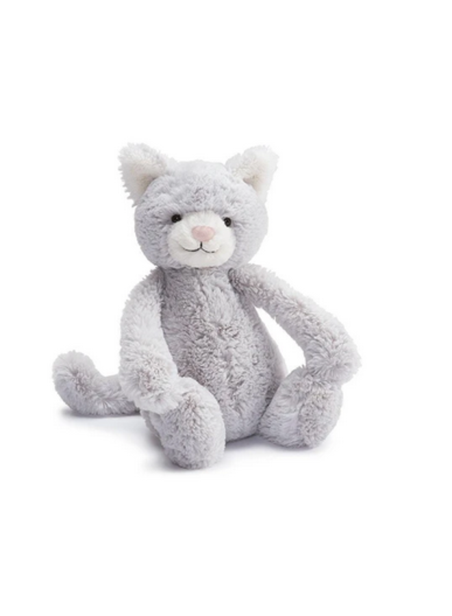 Jellycat - Bashful Grey Kitty Small