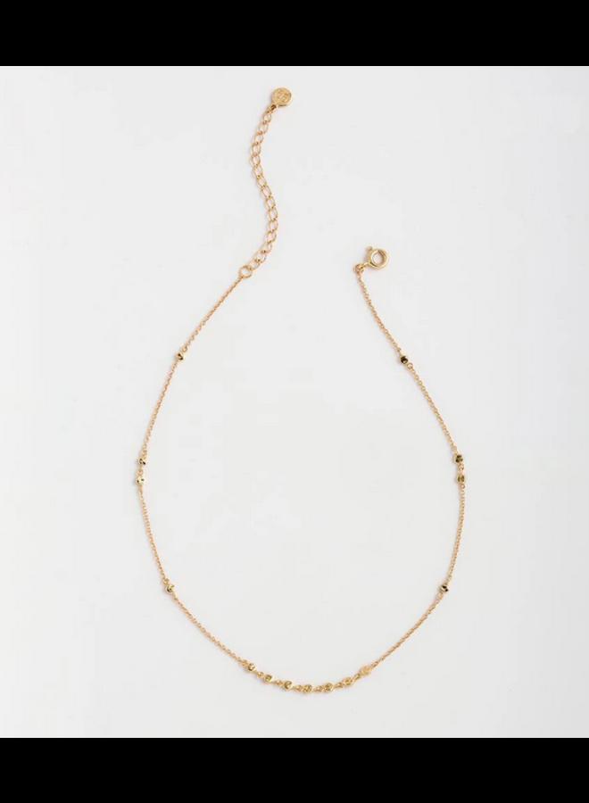 Chloe Mini Choker Gold Necklace - by Gorjana