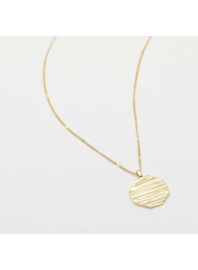 Sunset Pendant Gold Necklace - by Gorjana
