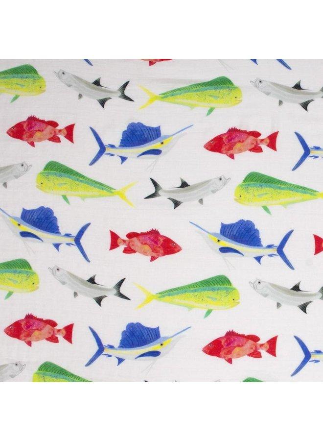 Florida Fish Swaddle
