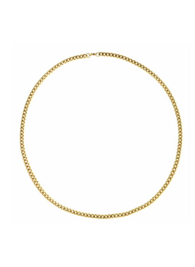 Gold Link Chain Necklace - Hudson Necklace by Ellie Vail