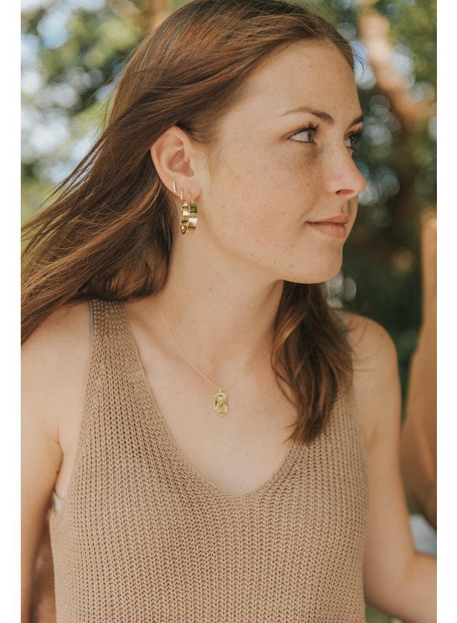 Small Jax Hoop Earrings - Gold - By Gorjana