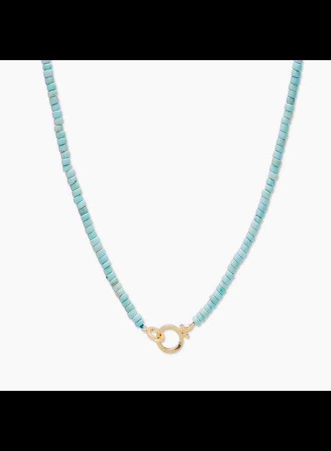 Parker Gem Necklace - Turquoise - By Gorjana