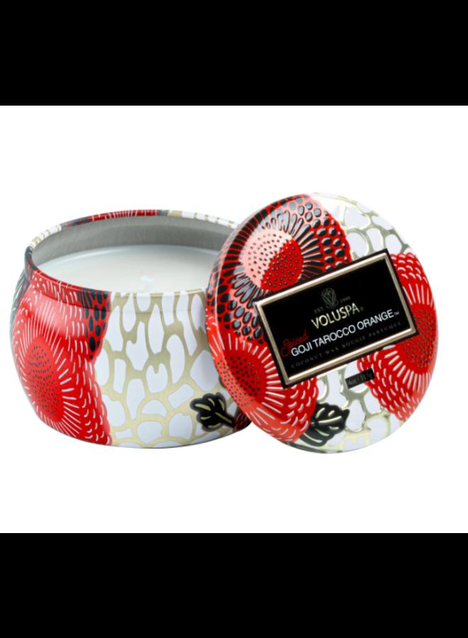 Mini Tin Candle - Spiced Goji  4oz