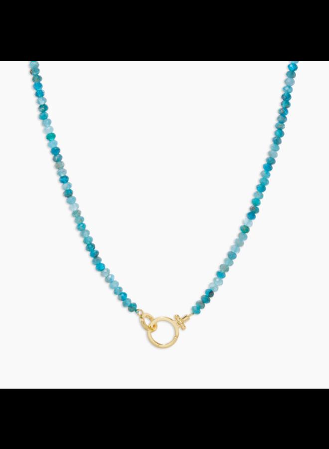 Parker Gem Necklace - Apatite - By Gorjana