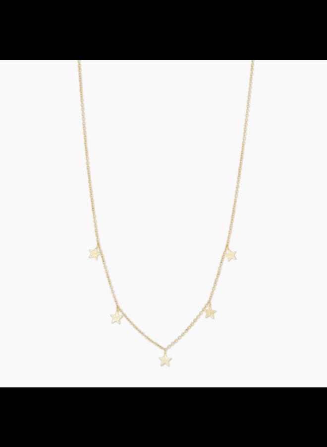 Super Star Flutter Gold Necklace - By Gorjana