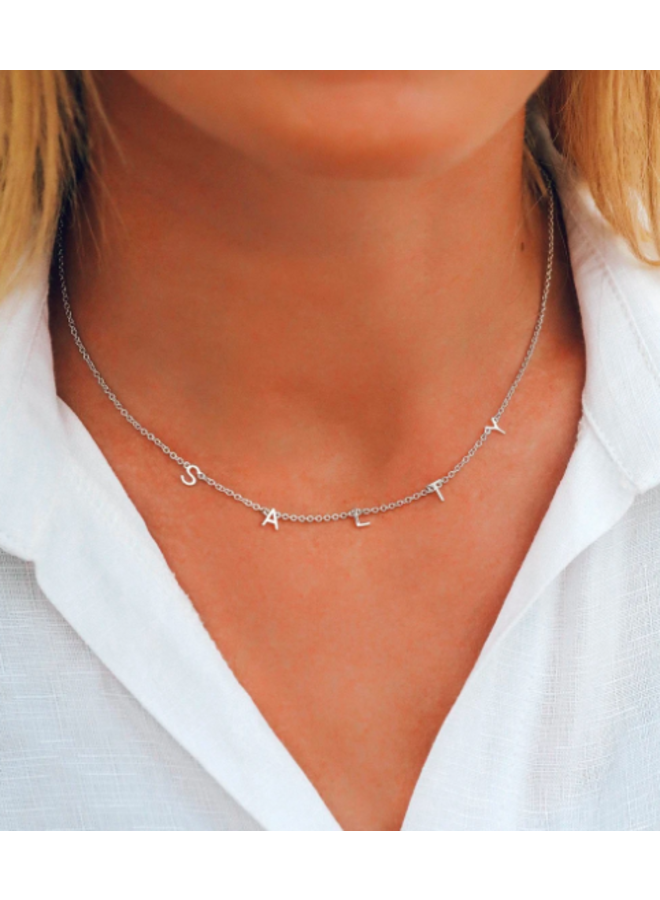 Pura Vida - Silver Salty Necklace
