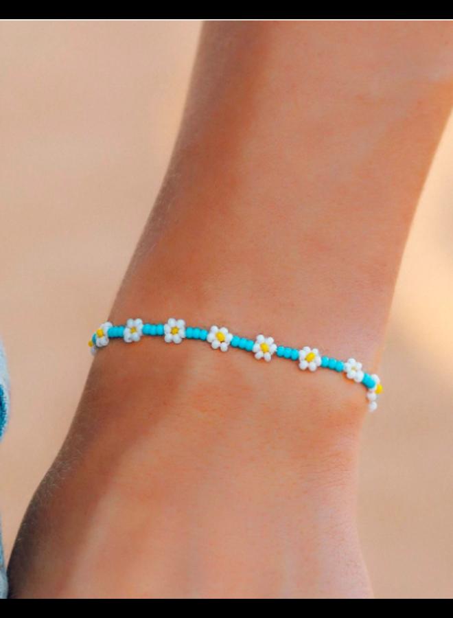 Pura Vida -  Daisy Seed Bead Bracelet