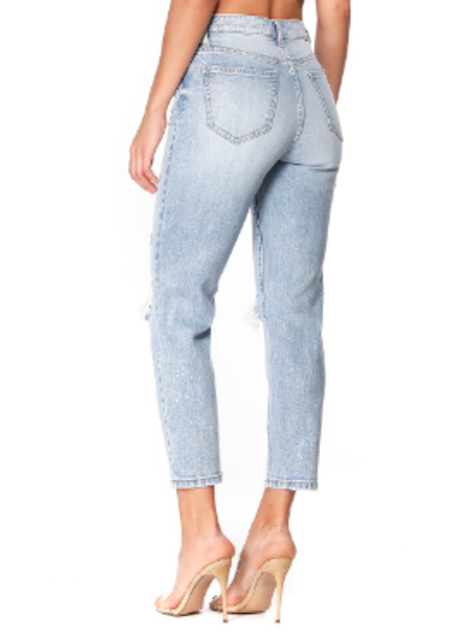 Tobi Super High Rise Jeans by Eunina - Old School