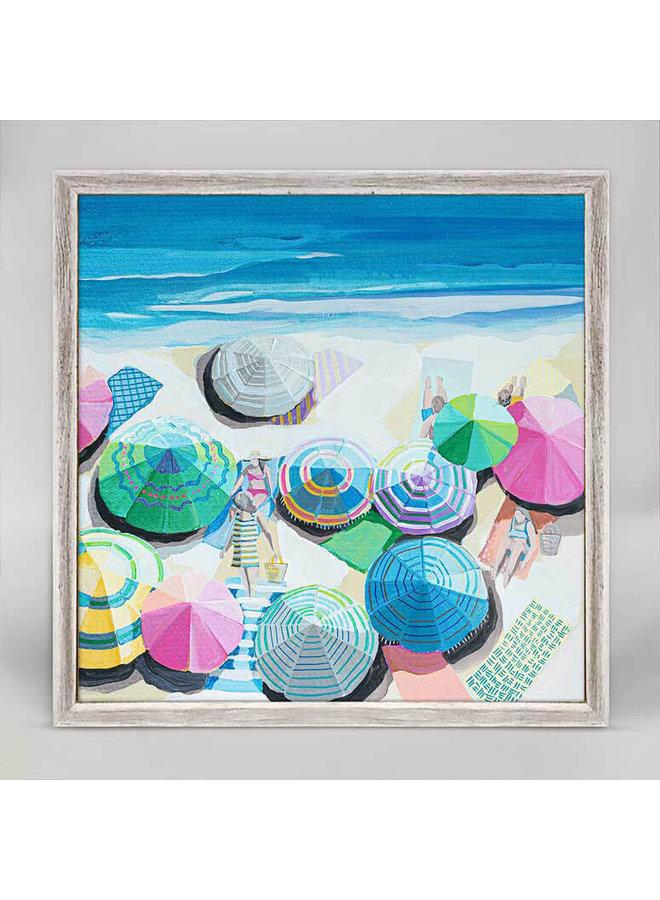 East Coast Swimt Mini Framed 5x7 Canvas
