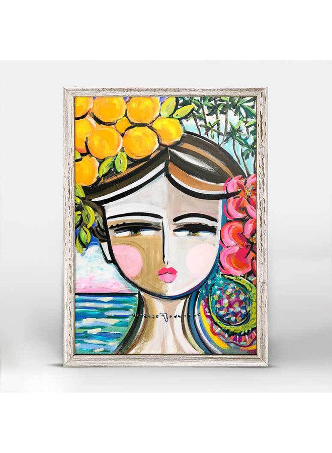 She Is Fierce - Florida 5x7 Mini Wall Art