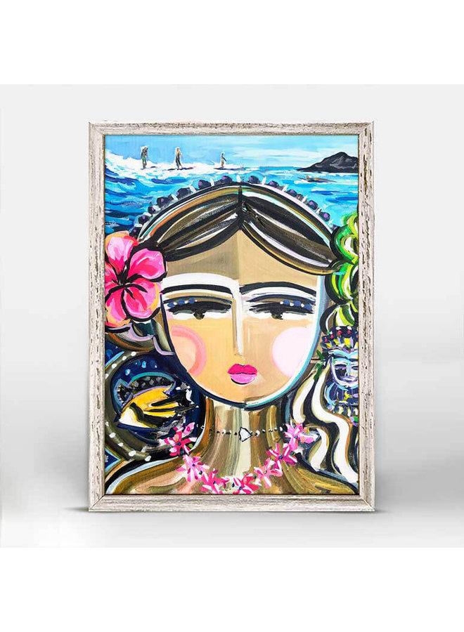 She Is Fierce - Hawaii 5x7 Mini Wall Art