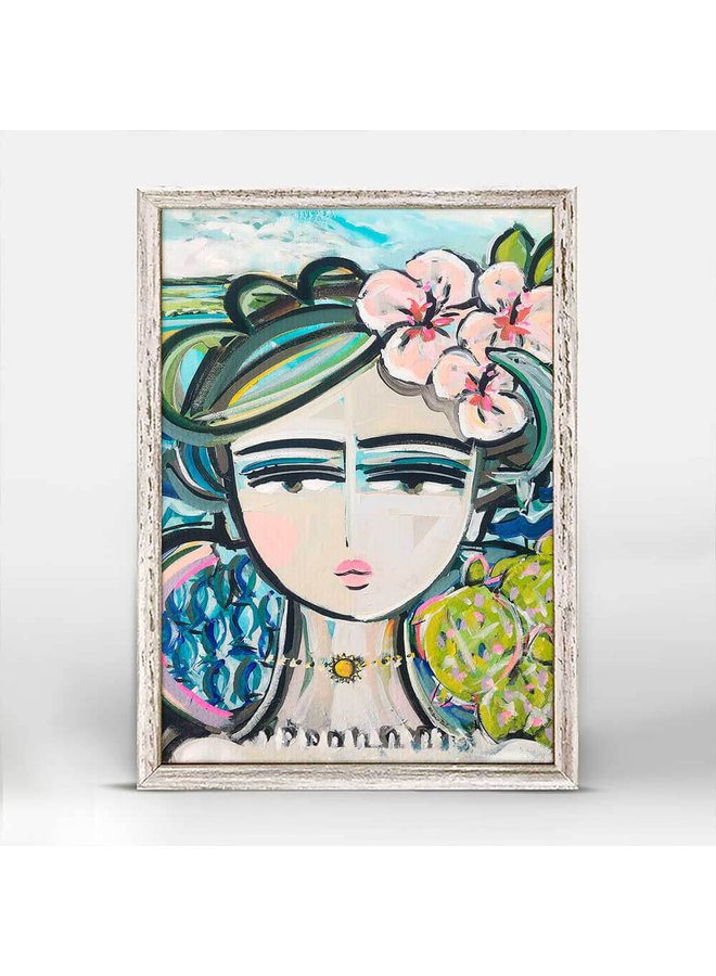 She Is Fierce - Beach 5x7 Mini Wall Art