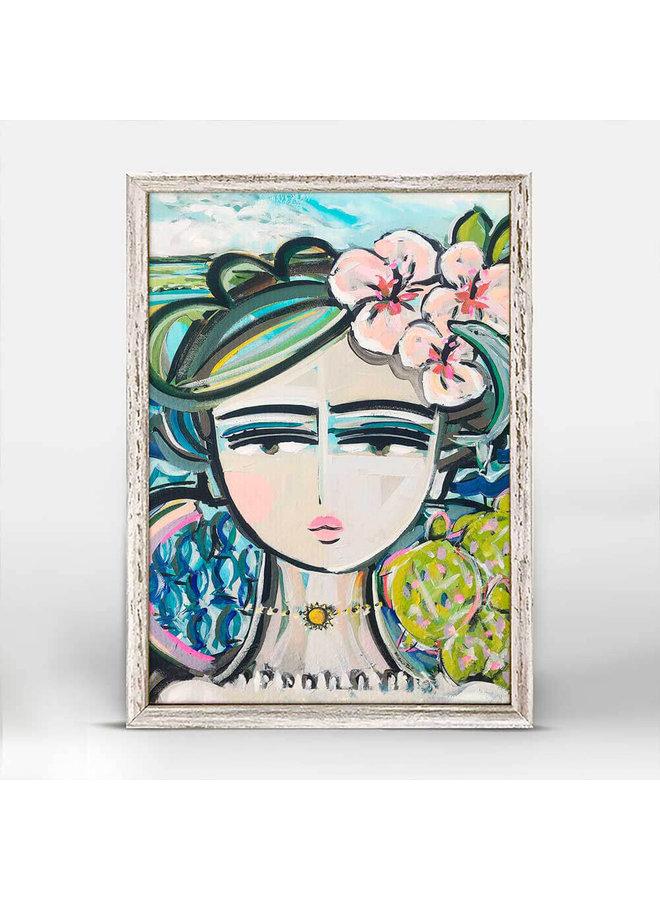 She Is Fierce - California 5x7 Mini Wall Art