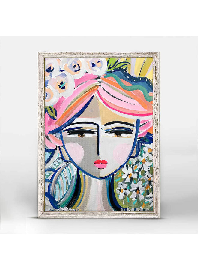 She Is Fierce - Bella 5x7 Mini Wall Art