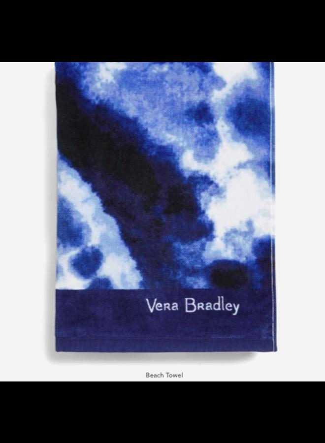 Island Blue Tie Dye - Beach Towel by Vera Bradley