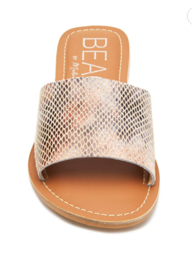 Blush Snake Cabana Slide Sandals