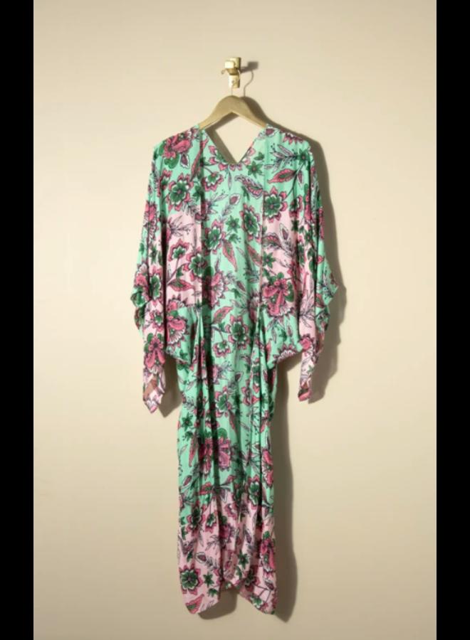 Barbarossa Kimono - Mint Boho Floral