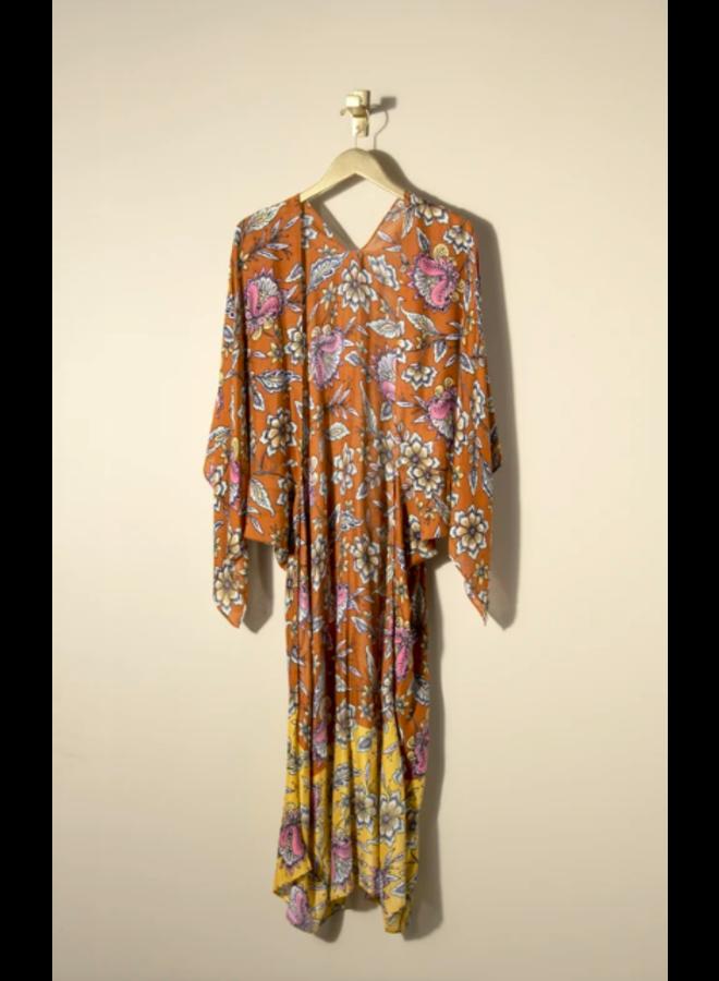 Barbarossa Kimono - Cinnamon Boho Floral