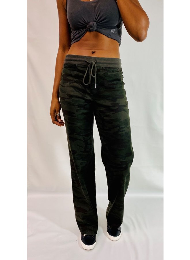 Wide Leg Camo Lounge Around Pant by Level 99