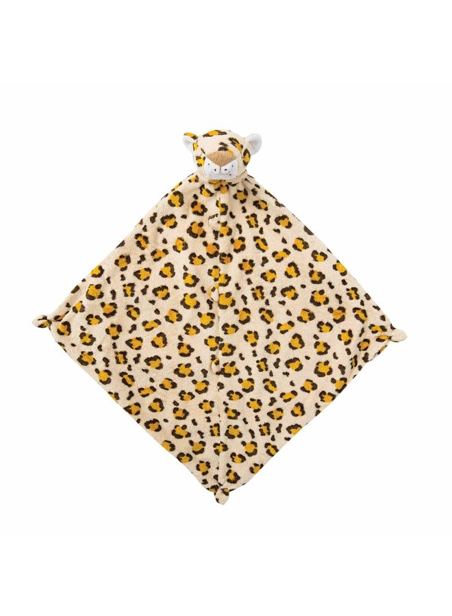 Angel Baby Lovey Baby Blanket-Leopard