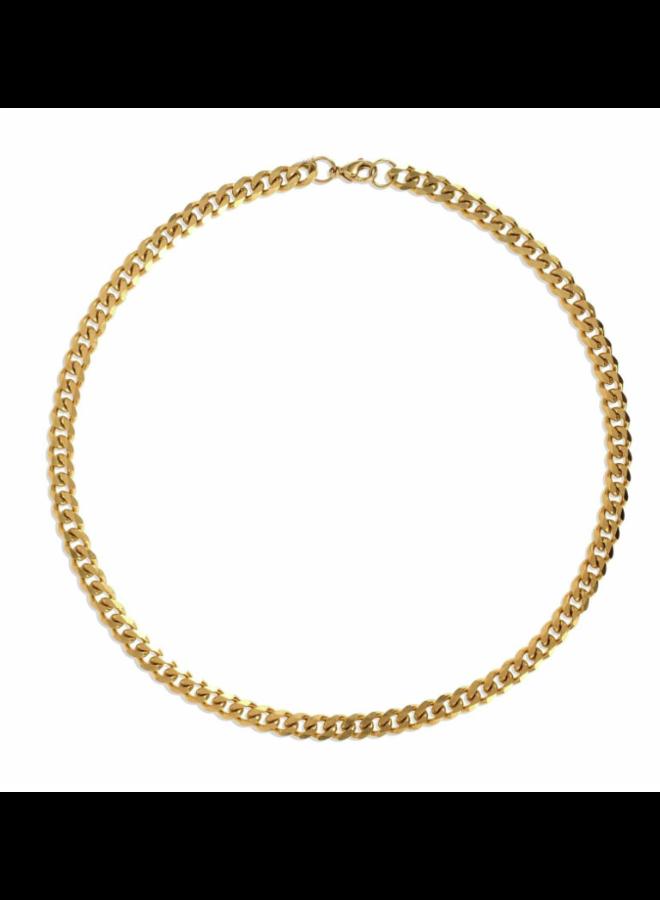 Liam Cuban Chain Necklace -  Ellie Vail