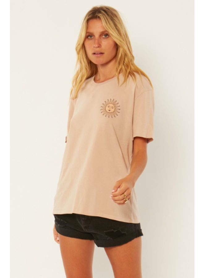Beach Bling Tee by Amuse Society - Mushroom