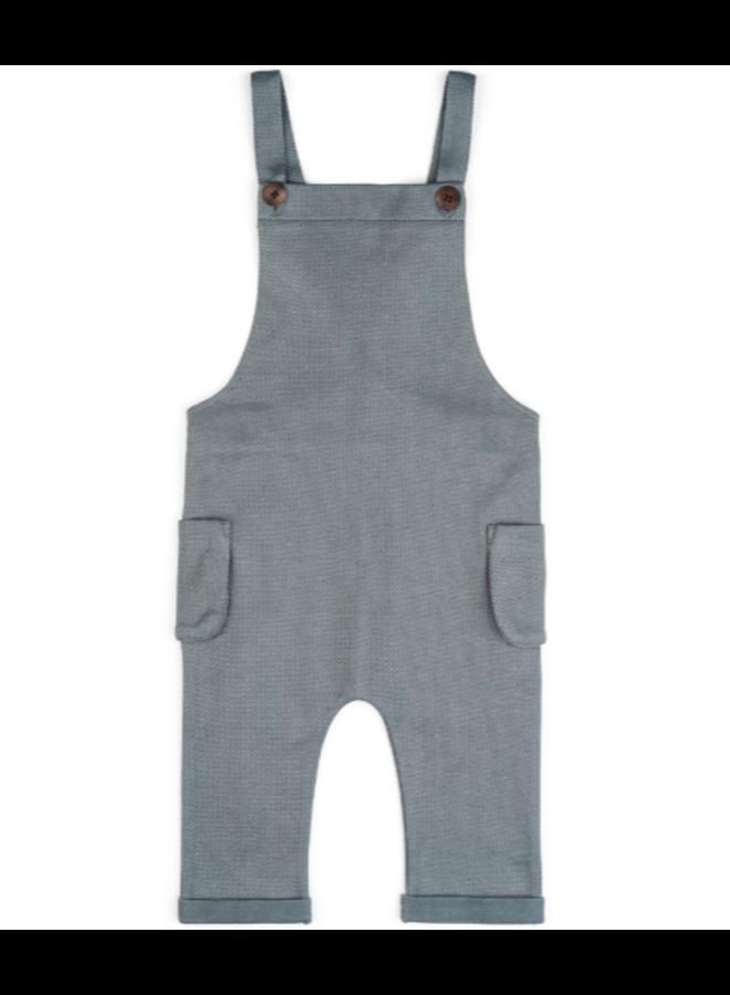 Organic Baby Overall - Denim by Milkbarn