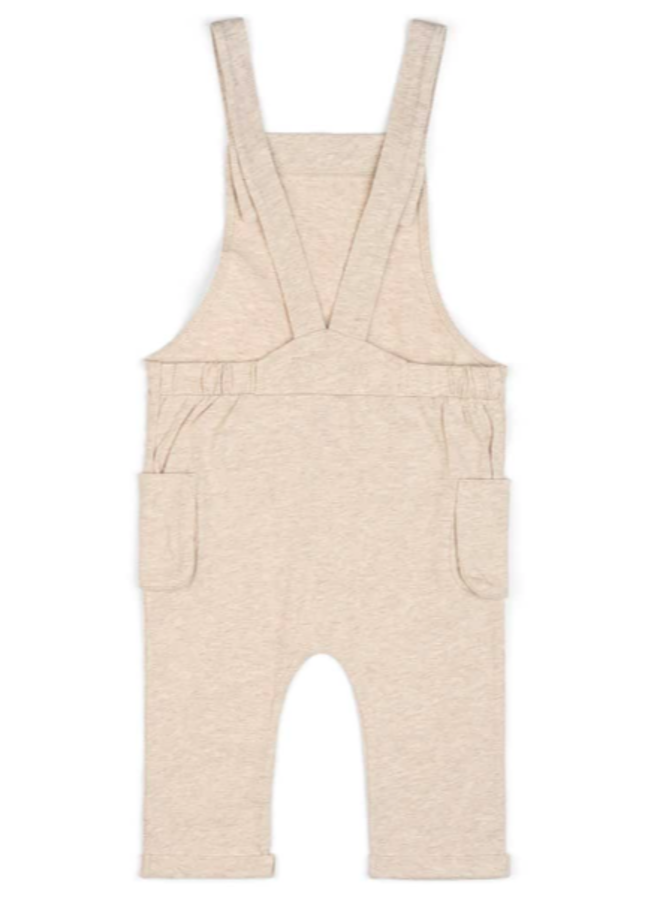 Organic Baby Overall - Oatmeal by Milkbarn