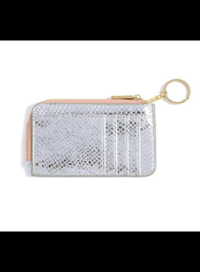 Vargas Card Case - Metallic Snake