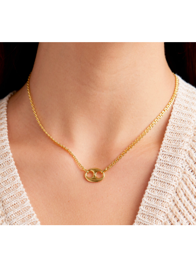 Port Mini Necklace - by Gorjana