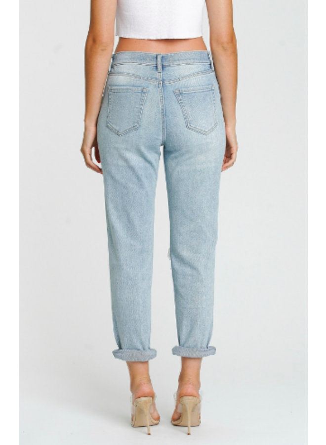 Rocky High Rise Boyfriend Jeans by Eunina -It's Complicated