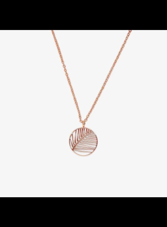 Pura Vida -  Havana Pendant Necklace - Rose Gold