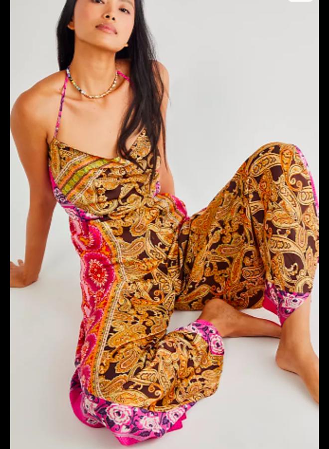 Miranda Printed Jumpsuit by Free People -  Floral