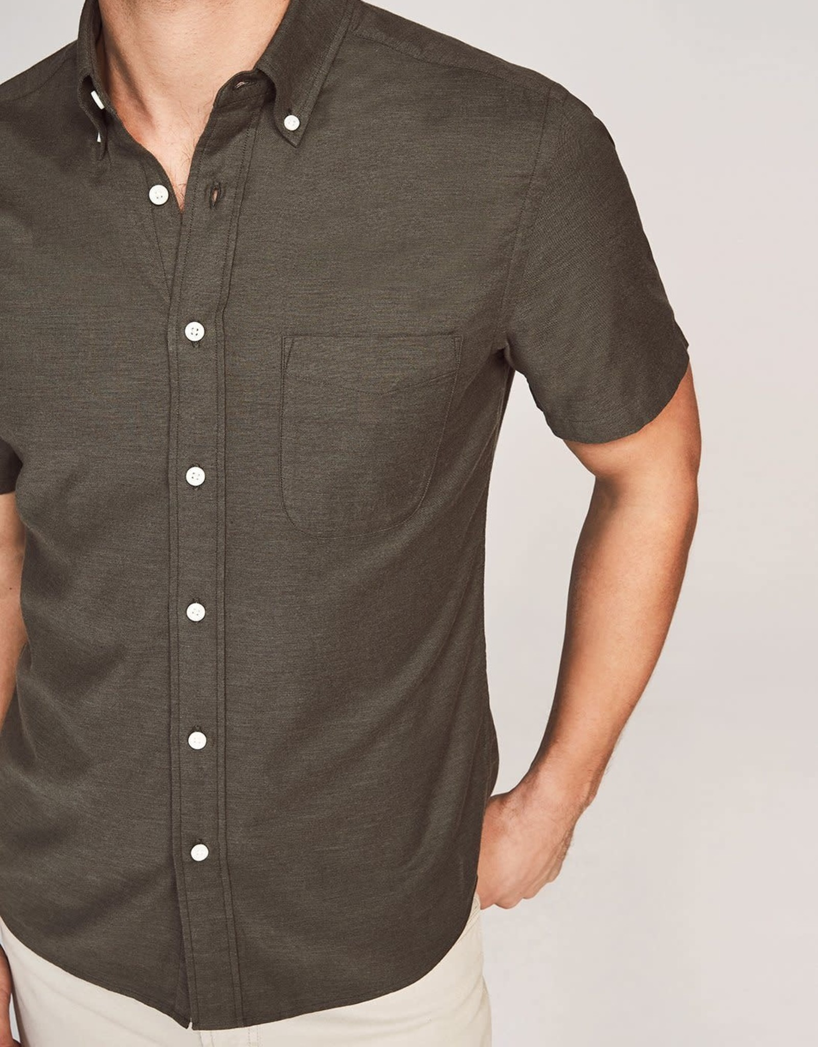 Faherty Oxford Button Up