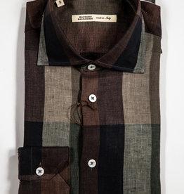 MAURIZIO BALDASSARI Linen Button Up
